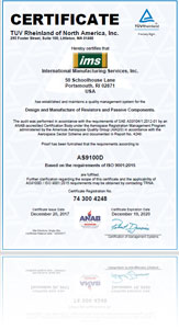 IMS Certified ISO9001:2008 Company